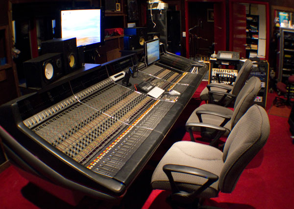 Harrison Console at GSAudio